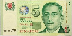 5 Dollars SINGAPOUR  1999 P.39 NEUF