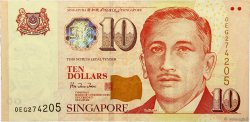 10 Dollars SINGAPOUR  1999 P.40 TTB