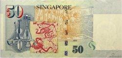 50 Dollars SINGAPOUR  1999 P.41a TTB