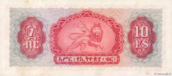 10 Dollars ÉTHIOPIE  1961 P.20a SUP