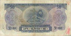 50 Dollars ÉTHIOPIE  1961 P.22a TB