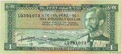 1 Dollar ÉTHIOPIE  1966 P.25a pr.NEUF