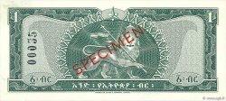 1 Dollar ÉTHIOPIE  1966 P.25s pr.NEUF