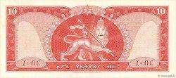 10 Dollars ÉTHIOPIE  1966 P.27a NEUF