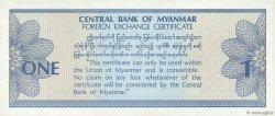 1 Dollar MYANMAR  1993 P.FX01 pr.NEUF