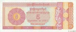 5 Dollars MYANMAR  1993 P.FX02 pr.NEUF