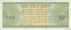 10 Dollars MYANMAR  1993 P.FX03 SUP