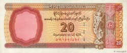20 Dollars MYANMAR  1993 P.FX04 SUP