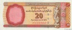 20 Dollars MYANMAR  1993 P.FX04 NEUF
