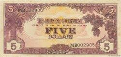 5 Dollars MALAYA  1942 P.M06a SUP