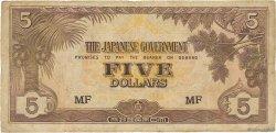 5 Dollars MALAYA  1942 P.M06b B
