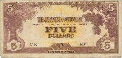 5 Dollars MALAYA  1942 P.M06c B