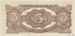 5 Dollars MALAYA  1942 P.M06c SUP