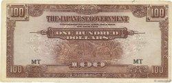 100 Dollars MALAYA  1944 P.M08a TB