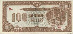 100 Dollars MALAYA  1945 P.M09 TTB+