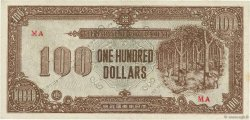 100 Dollars MALAYA  1945 P.M09 SPL