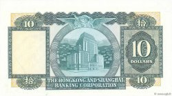 10 Dollars HONG KONG  1978 P.182h SPL