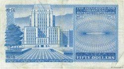 50 Dollars HONG KONG  1977 P.184d pr.TTB