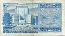 50 Dollars HONG KONG  1980 P.184f TB+