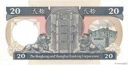 20 Dollars HONG KONG  1989 P.192c NEUF