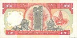100 Dollars HONG KONG  1992 P.198d TTB