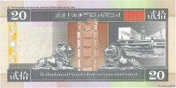 20 Dollars HONG KONG  1997 P.201c pr.NEUF
