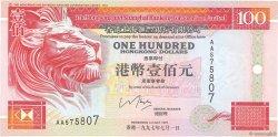 100 Dollars HONG KONG  1997 P.203b NEUF