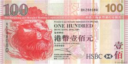 100 Dollars HONG KONG  2003 P.209a TTB
