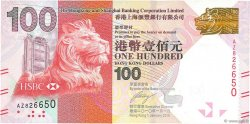 100 Dollars HONG KONG  2010 P.214 NEUF