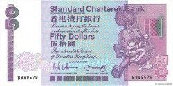 50 Dollars HONG KONG  1987 P.280b pr.NEUF