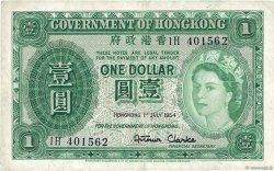 1 Dollar HONG KONG  1954 P.324Aa TB