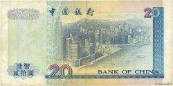 20 Dollars HONG KONG  1994 P.329a TB
