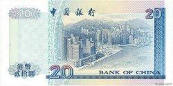 20 Dollars HONG KONG  1997 P.329c SPL