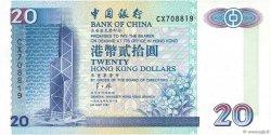 20 Dollars HONG KONG  1997 P.329c NEUF