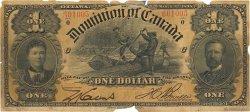 1 Dollar CANADA  1898 P.024Ab B+