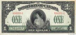 1 Dollar CANADA  1917 P.032a TTB+