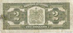 2 Dollars CANADA  1923 P.034k B+