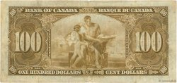 100 Dollars CANADA  1937 P.064b TB+