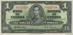 1 Dollar CANADA  1937 P.058d SPL
