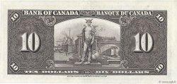 10 Dollars CANADA  1937 P.061b pr.SPL