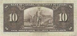 10 Dollars CANADA  1937 P.061c TB