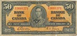 50 Dollars CANADA  1937 P.063b B