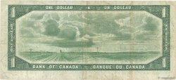 1 Dollar CANADA  1954 P.066a TB