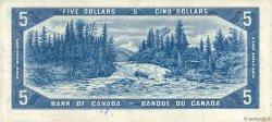 5 Dollars CANADA  1954 P.068a TTB+