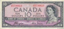 10 Dollars CANADA  1954 P.069a pr.TTB