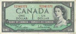 1 Dollar CANADA  1954 P.074b TTB