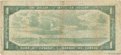 1 Dollar CANADA  1954 P.075b B+