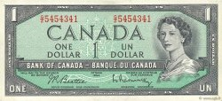 1 Dollar CANADA  1954 P.075b SUP