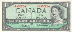 1 Dollar CANADA  1954 P.075c SPL