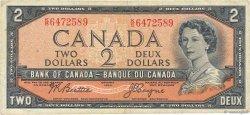 2 Dollars CANADA  1954 P.076a TB+